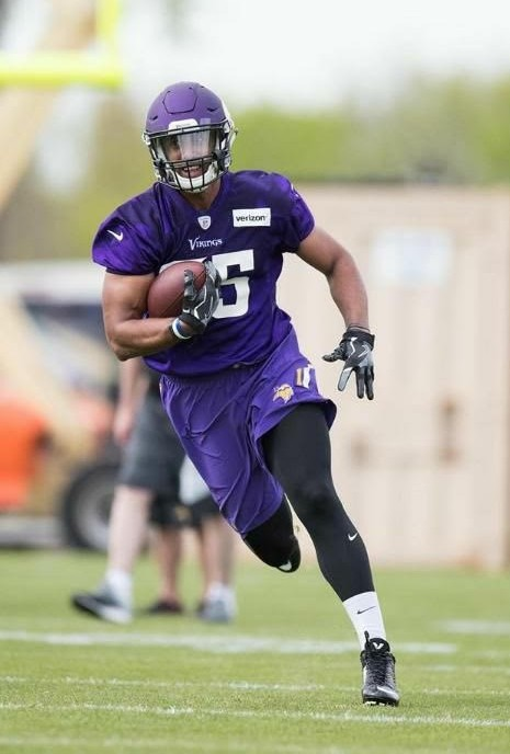 #85 TE Nick Truesdell Rookie Mini Camp with the Minnesota Vikings