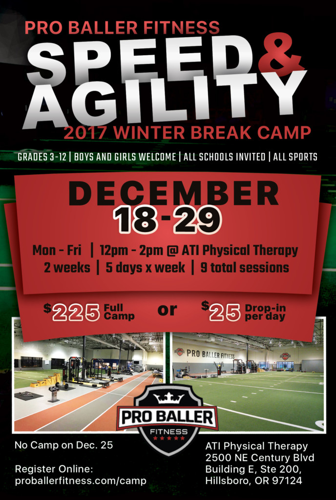2017 Winter Speed Agility Camp