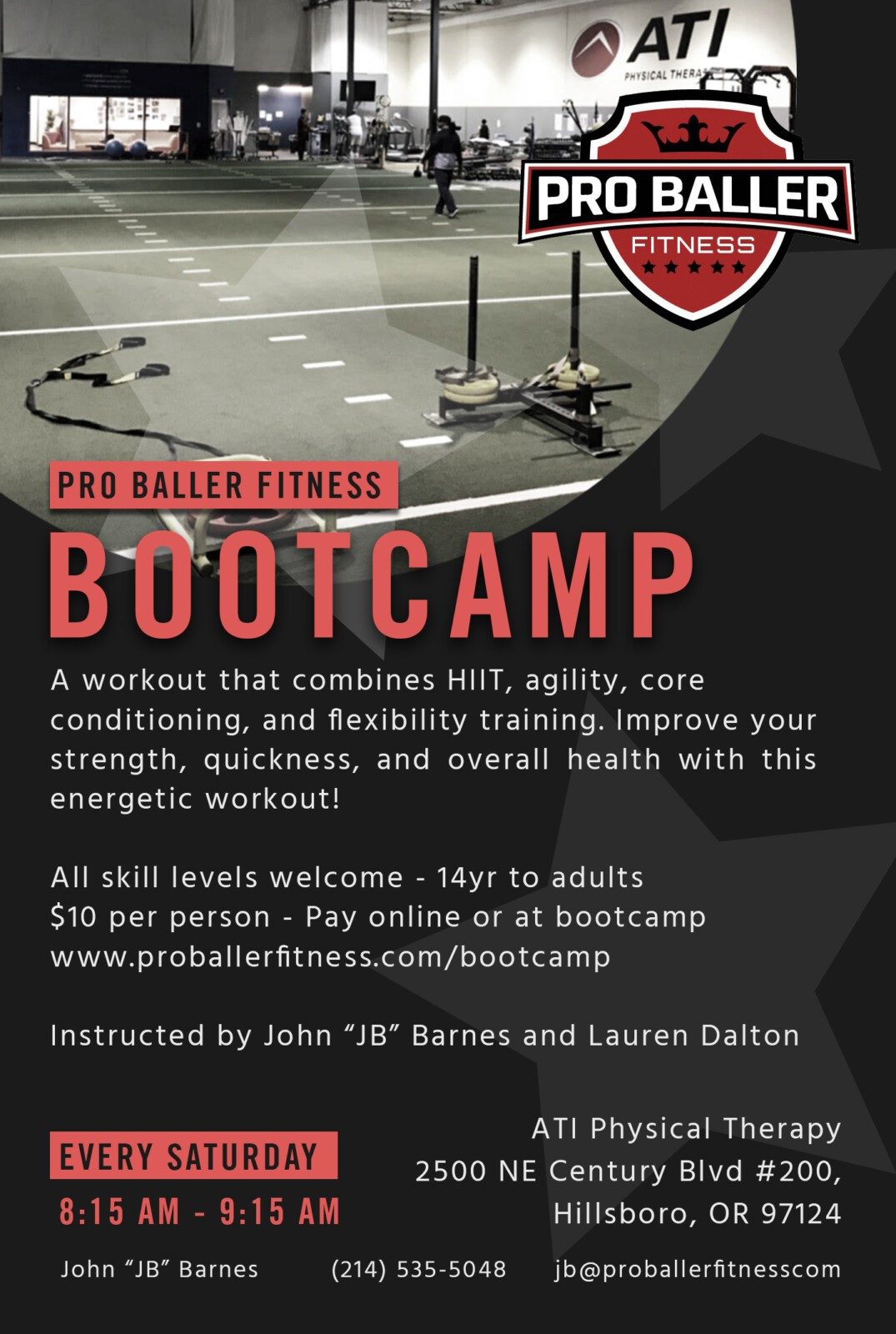 Pro Baller Fitness Boot Camp